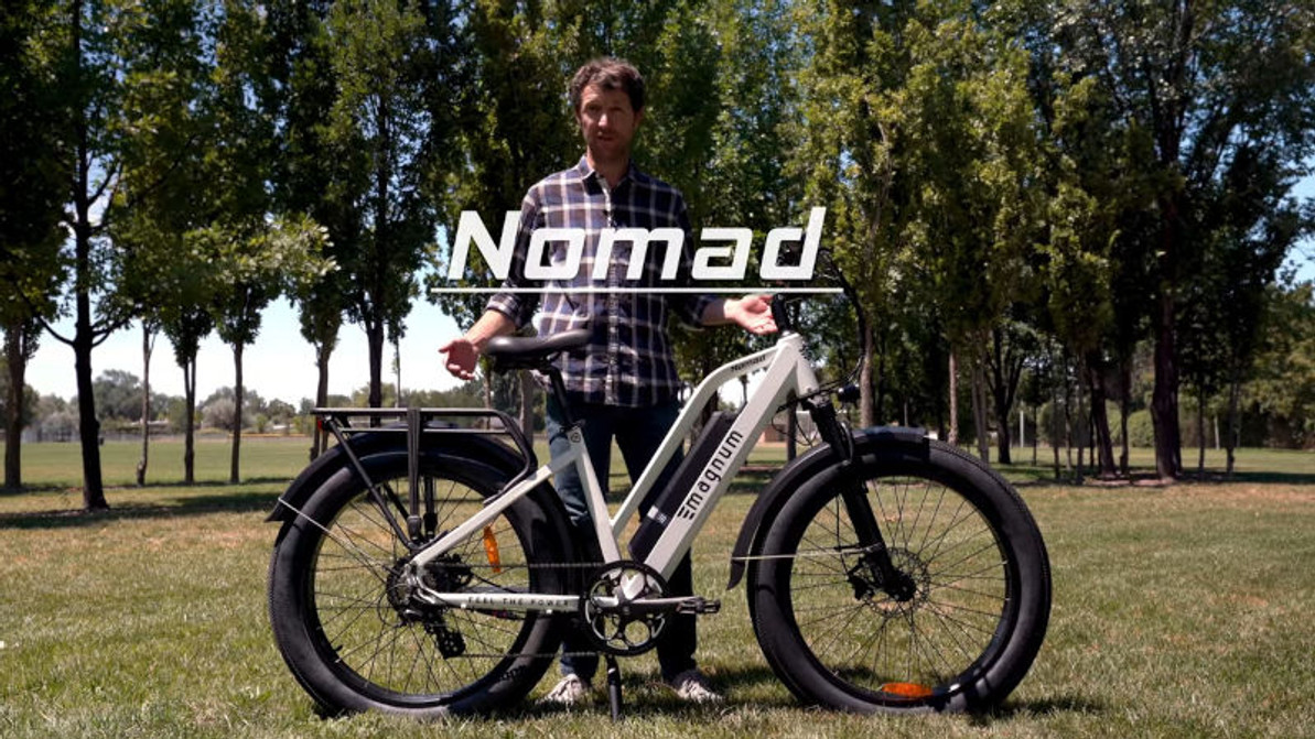 Why Magnum's New Nomad E-Bike Is Great For Any Outdoor Lover