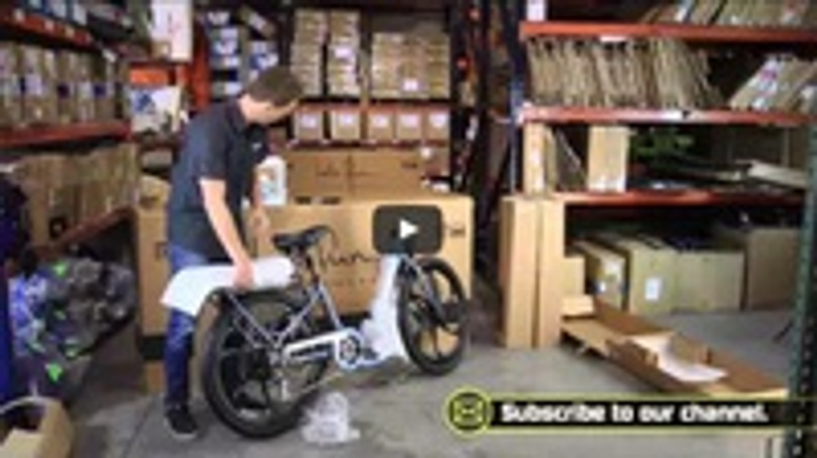 Let's Chat: Unboxing Your Pedego Bicycle