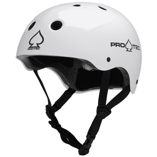 Pro-Tec Classic Skate Helmet - Gloss White