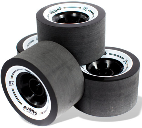 Evolve GT Street Wheels Black
