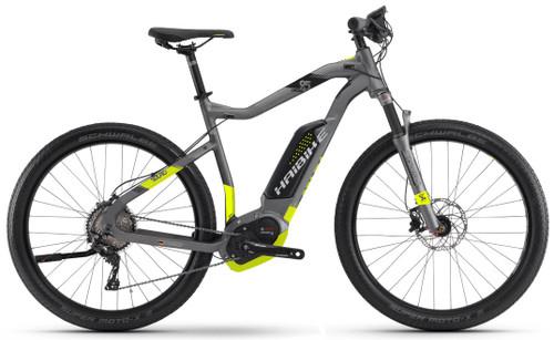 2018 Haibike Sduro Cross 9.5 High-Step Electric Mountain Bike