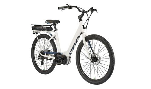 2018 iZip E3 Vibe Plus Step Thru Electric Bike - White