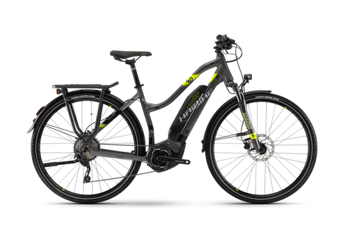 2018 Haibike Sduro Trekking 4.0 Low-Step Electric Mountain Bike