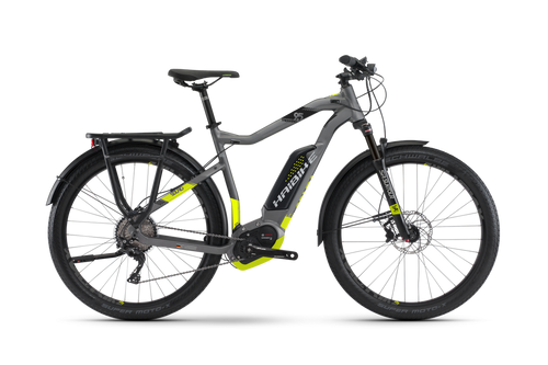 2018 Haibike Sduro Trekking 9.5 High-Step Electric Mountain Bike