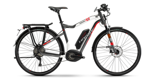 2018 Haibike Sduro Trekking S 9.0 High-Step Electric Mountain Bike