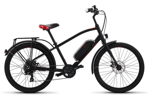 2019 iZip Simi Step Over Electric Bike - Black