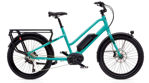 Benno Boost E 10D Step Thru Electric Bike - Aqua Green