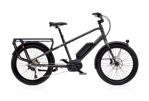 Benno Boost E 10D Electric Bike - Matte Anthracite Gray