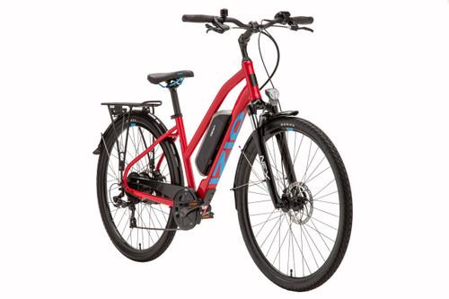 2019 iZip Brio Step Over Electric Bike - Red