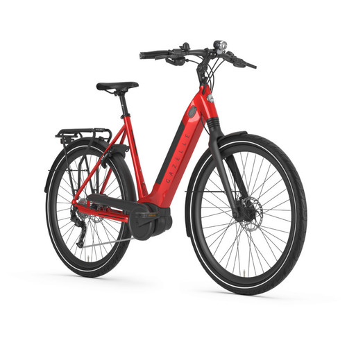 Gazelle Ultimate T10 HMB Electric Bike - Champion Red