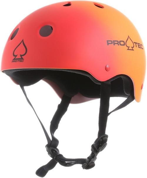 Pro-Tec Classic Skate Helmet - Red/Orange Fade