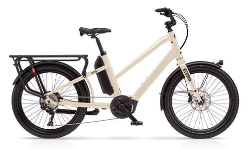 Benno Boost E 10D Step Thru Electric Bike - Bone Gray