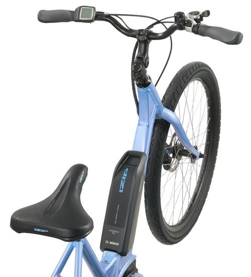 2021 iZip Vibe 2.0 Step Thru Electric Bike - Cornflower Blue