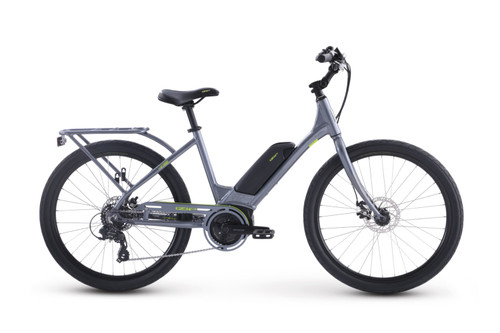 2020 iZip Vibe 2.0 Step Thru Electric Bike - Metallic Grey