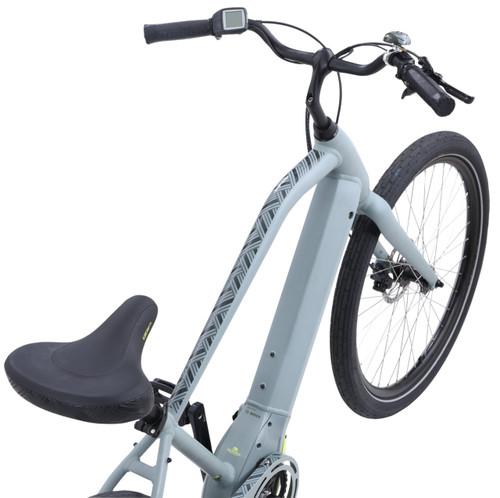2021 iZip Zuma Luxe Step Over Electric Bike - Grey