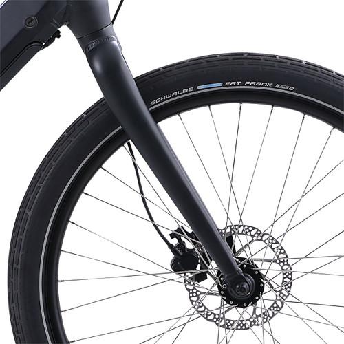 2021 iZip Zuma Luxe Step Thru Electric Bike - Black