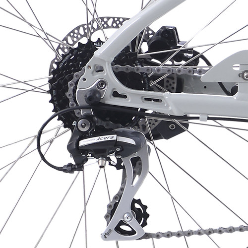 2021 iZip Zuma Luxe Step Thru Electric Bike - Grey