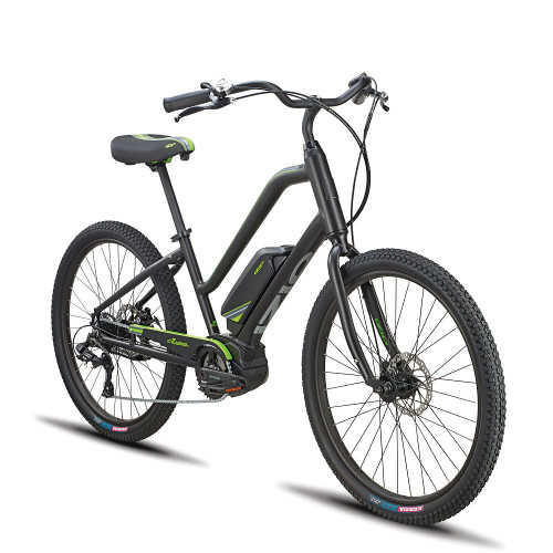 2020 iZip Zuma 2.0 Step Thru Electric Bike - Black