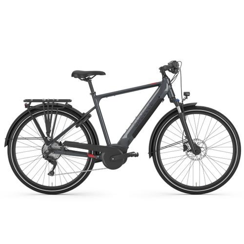 Gazelle Medeo T10 HMB High-Step Electric Bike - Dust Gloss