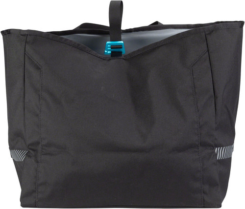 MSW Blacktop Grocery Pannier Bag - Black