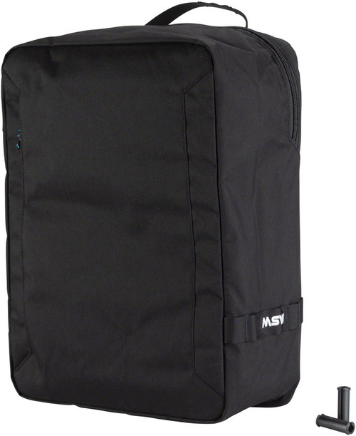 MSW Blacktop Pannier Bag - Black