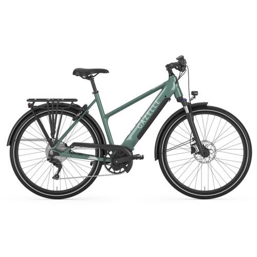 Gazelle Medeo T10 + HMB Electric Bike - Petrol Gloss