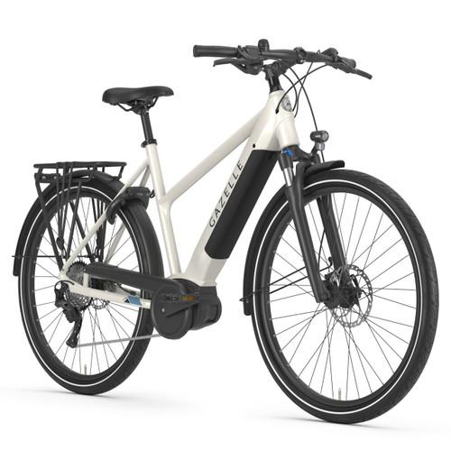 Gazelle Medeo T10 HMB Electric Bike - Ivory Gloss