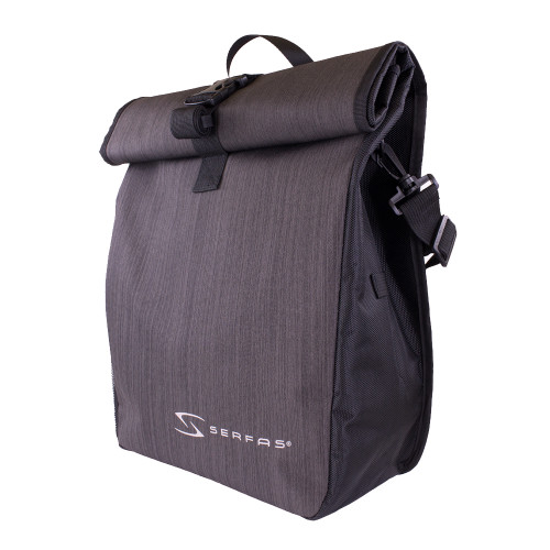 Serfas Single Pannier Bag - Black