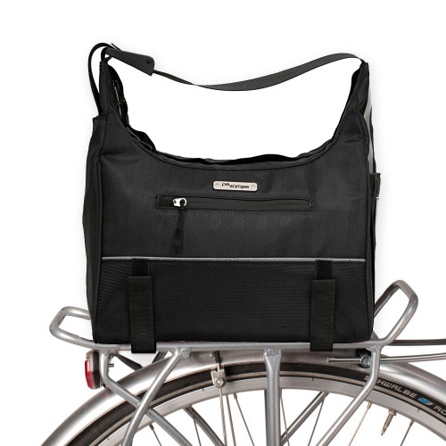 Po Campo Chelsea Trunk Bag - Black Herringbone