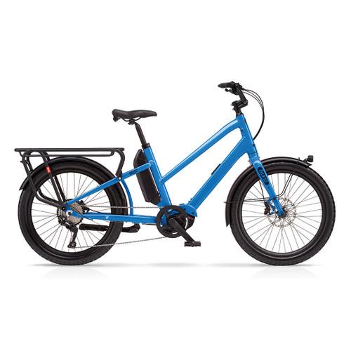Benno Boost E 10D Step Thru Electric Bike - Machine Blue