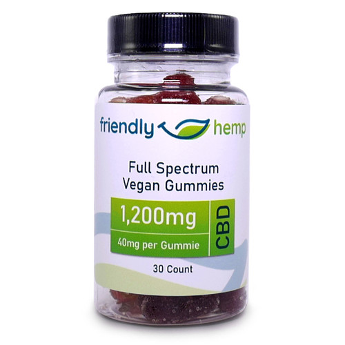 Friendly Hemp - Full Spectrum CBD Gummies