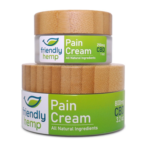 Friendly Hemp - CBD Pain Cream