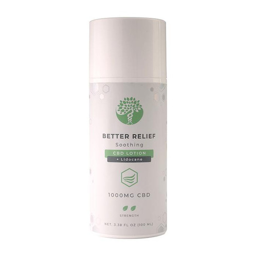 Better Relief - CBD Lotion