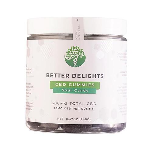 Better Delights - CBD Sour Gummies