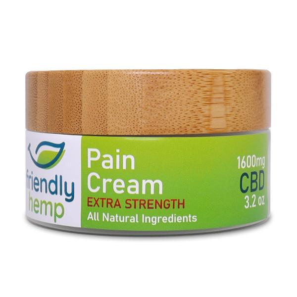 Friendly Hemp - Extra Strength CBD Pain Cream
