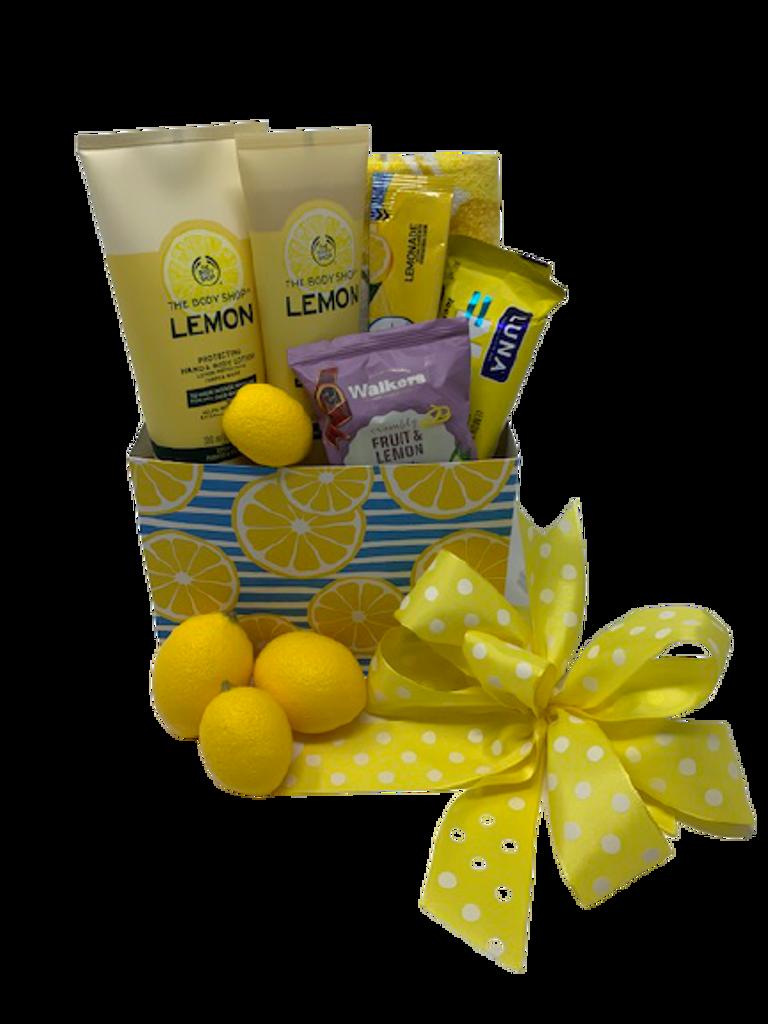 Refreshing Lemon Spa
