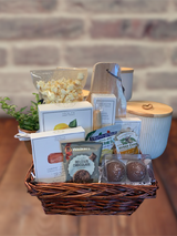 This lovely gift is filled with what you need to serve a few folks quickly!  Great snack!