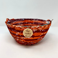 Hokie Favorite!  Hand-crafted memory bowl for all of your special Virginia Tech occasions!