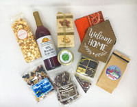 A great selection of VA products fill the basket.