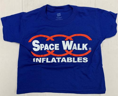 Youth Blue Fun Crew T-Shirts - New Logo