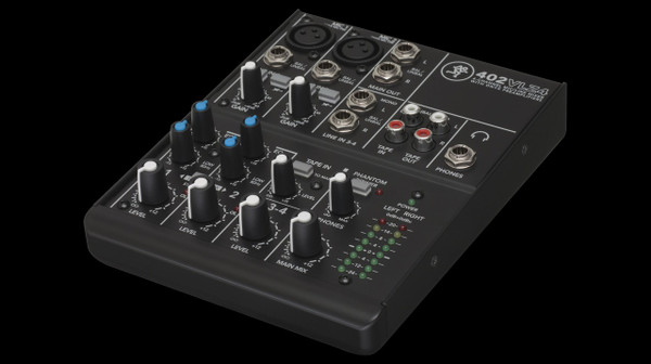 Mackie 402VLZ4 4 Channel Mixer