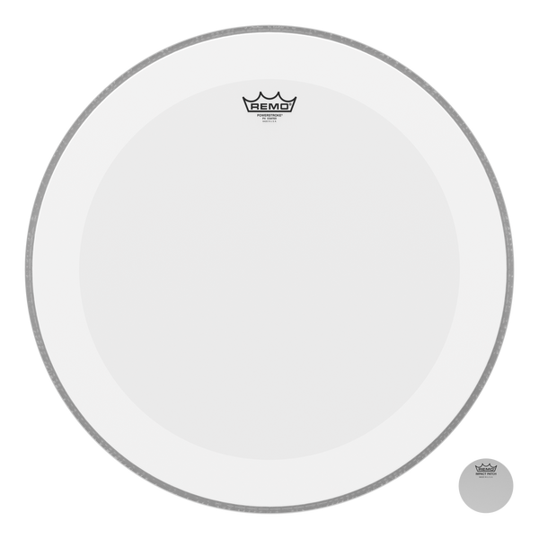 """Remo Powerstroke P4 22"""" Coated Bass Drumhead"""