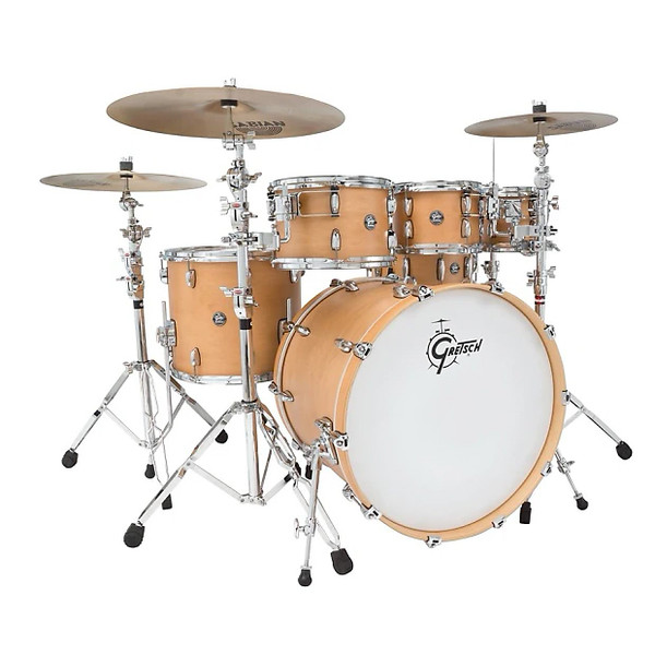 "Gretsch Marquee 10/12/16/22 Shell Pack w/ Free 8"" Tom Satin Natural"