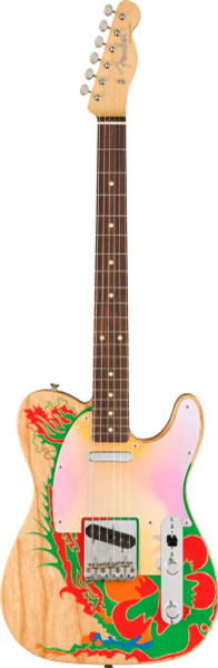 Fender Jimmy Page Dragon Telecaster Natural w/ Case