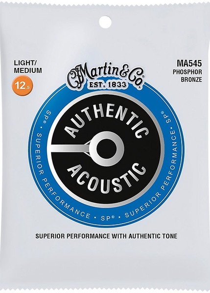 Martin MA545 Authentic Acoustic SP Phosphor Bronze Light/Medium