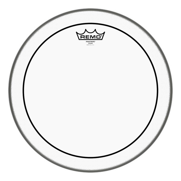 "Remo 20"" Pinstripe Clear Bass Drum Head"