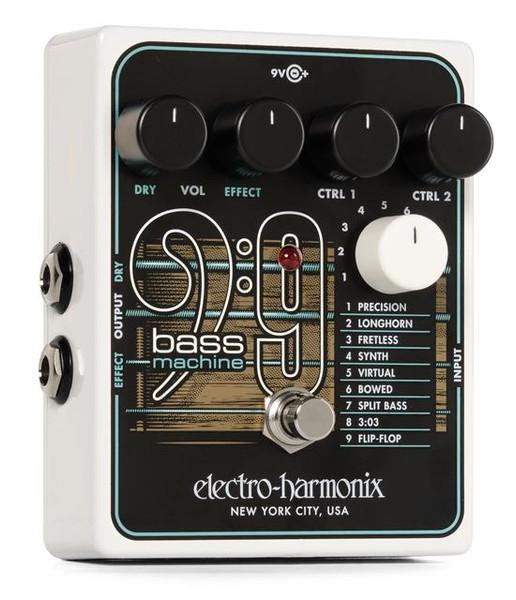 Electro-Harmonix Bass9 Bass Emulator Effects Pedal