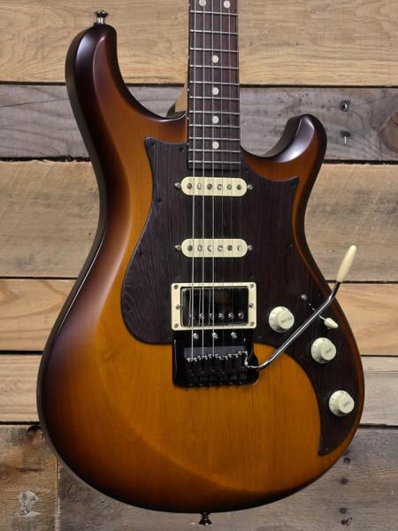 Knaggs Chesapeake Severn HSS Tremolo Electric Guitar Brown Burst w/ Case