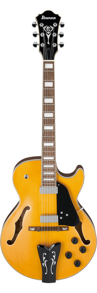 Ibanez George Benson GB10EM Hollowbody Electric Guitar Antique Amber