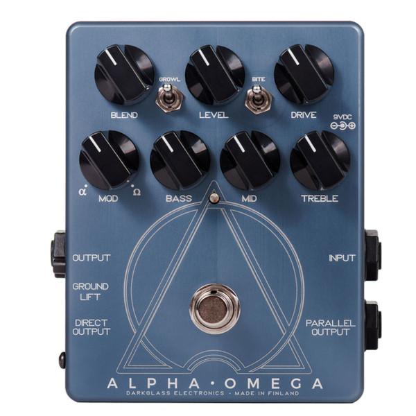 Darkglass Alpha Omega Preamp Bass Effects Pedal